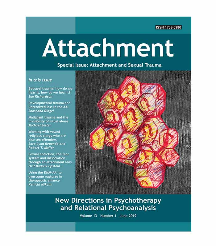 Volume 13 Number 1 - Special Issue: Attachment and Sexual Trauma